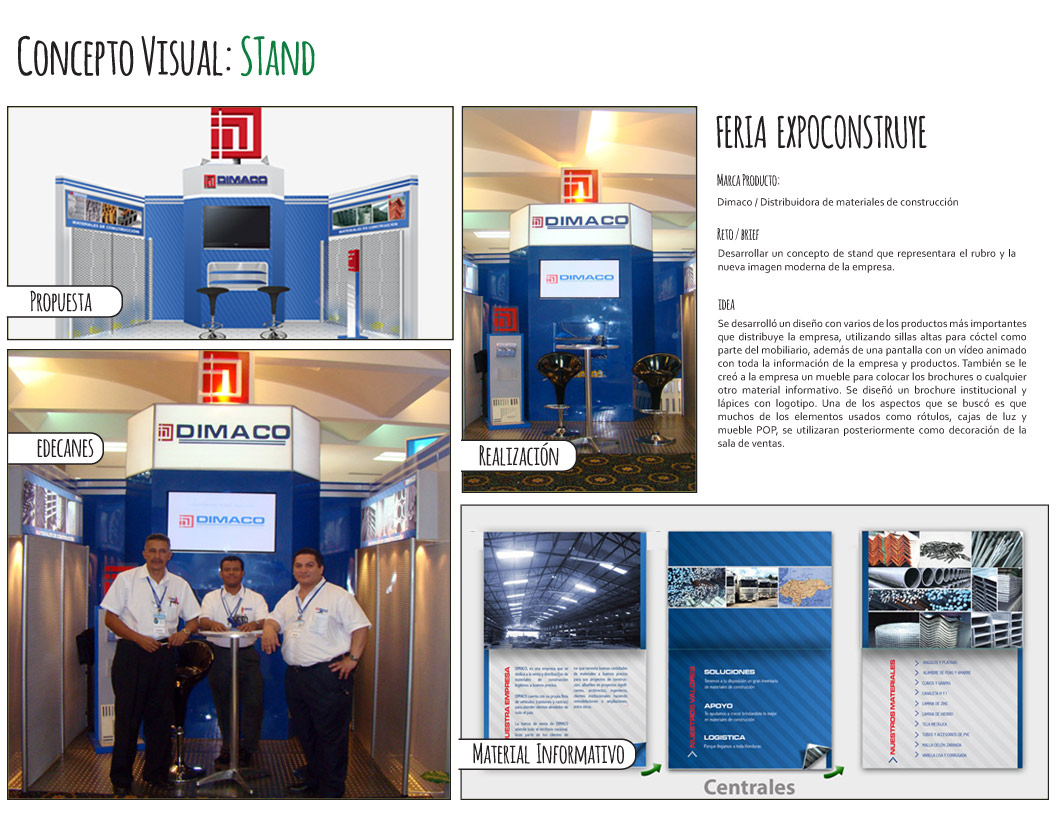 STANDS DIMACO